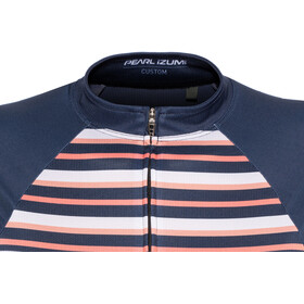 PEARL iZUMi Elite Pursuit LTD Maillot de cyclisme Femme, stripes navy/sugar coral/peach